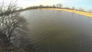 Ice-out Bassin with Chatterbaits and Rattletraps in Columbus, OH